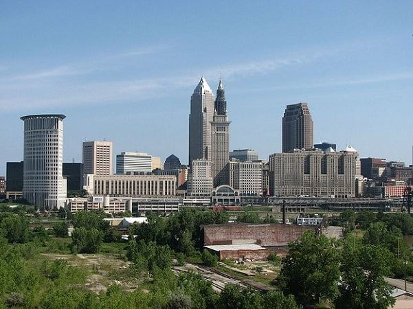 Photo: Cleveland, Ohio. Credit: Joanne; Wikimedia Commons.