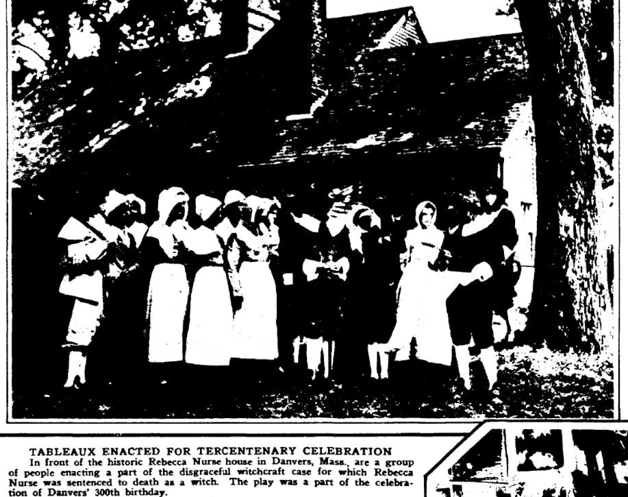 An article about the 1692 Salem Witch Trials, Times-Picayune newspaper article 20 July 1930