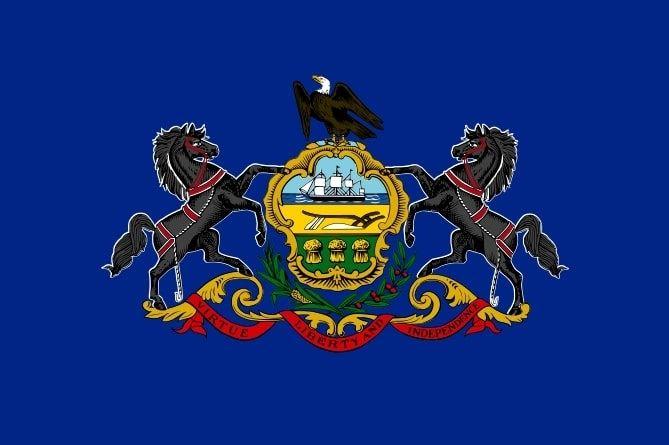 Illustration: Pennsylvania state flag