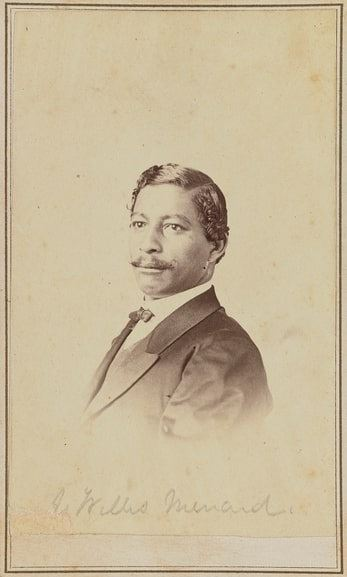 Photo: John Willis Menard, 1868