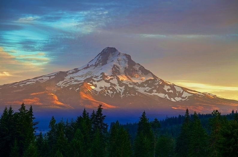 Photo: Mount Hood, the highest peak in Oregon