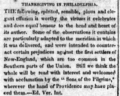 Vermont Intelligencer and Bellows' Falls Advertiser (Bellows Falls, Vermont), 27 January 1817, page 1Vermont Intelligencer and Bellows' Falls Advertiser newspaper article 27 January 1817