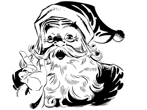Illustration: Santa Claus