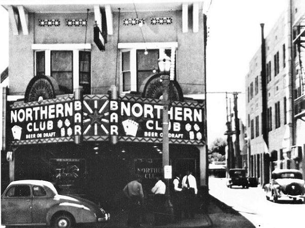 Photo: the Northern Club on Freemont Street Las Vegas, Nevada. Courtesy of the University of Nevada, Las Vegas Special Collections.