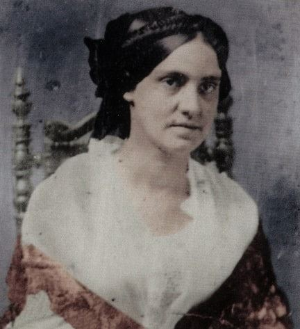Photo: Phoebe Yates Levy Pember, daughter of Jacob Clavius and Fanny (Yates) Levy, was a Richmond nurse during the Civil War