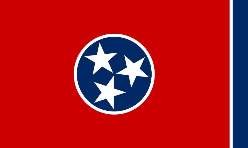 Illustration: Tennessee state flag