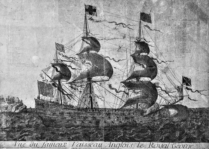 Illustration: HMS Royal George