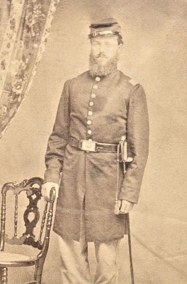 Photo: George Albert Adams, descendant of Sarah Adams