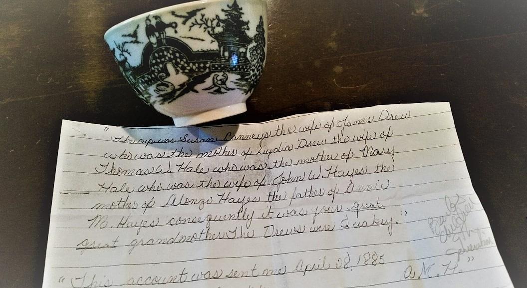 Photo: Susanna Carmey Drew's teacup