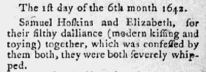 An article about Samuel Hotchkiss and Elizabeth Cleverly, Hampshire Herald newspaper article 7 December 1784