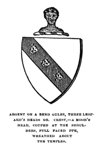 Illustration: Coker coat of arms