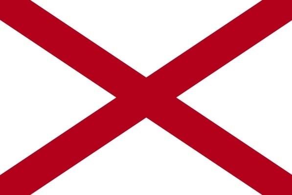 Illustration: Alabama state flag