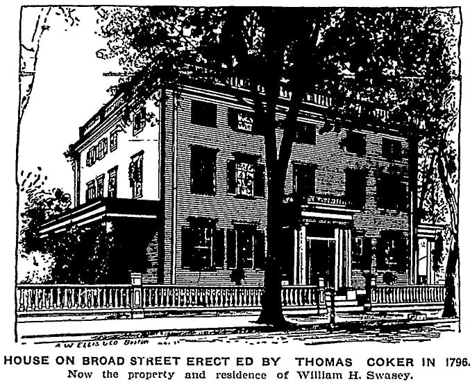 An article about Thomas Coker, Newburyport Daily News newspaper article 26 May 1906