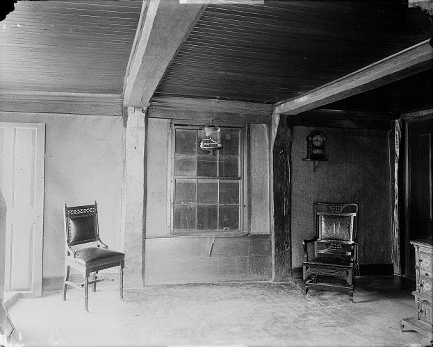 Photo: interior of John Endicott's house in Salem, Massachusetts