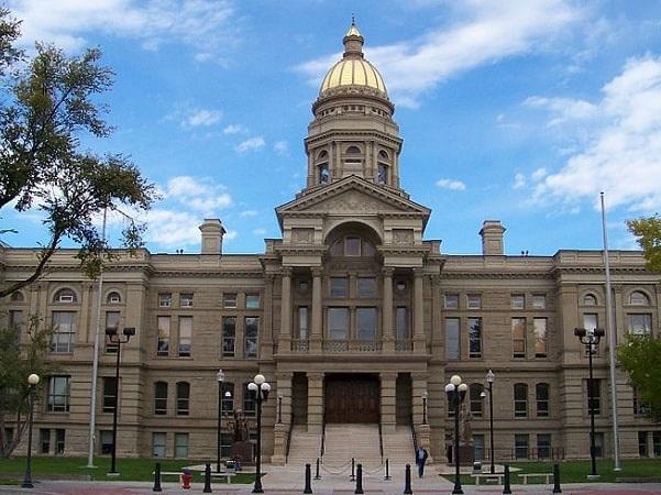 Photo: Wyoming State Capitol building, Cheyenne, Wyoming. Credit: Bradlyons; Wikimedia Commons.