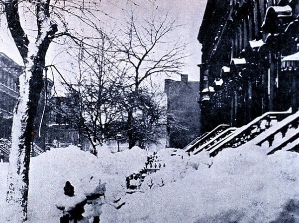 Photo: Park Place in Brooklyn, 14 March 1888. Credit: NOAA Photo Library/Historic NWS Collection; Wikimedia Commons.