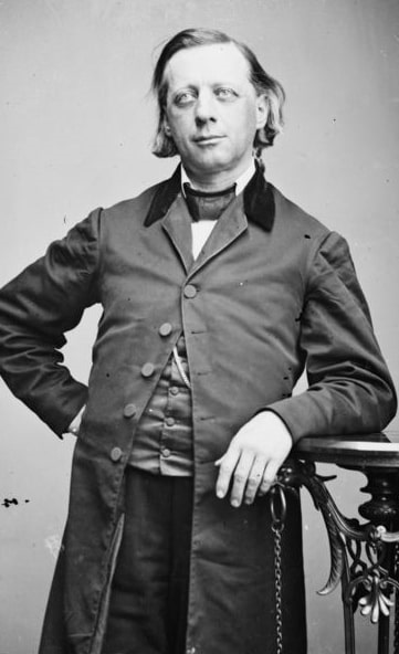 Photo: Henry Ward Beecher, by Mathew Brady