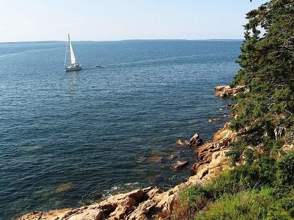Photo: the coast of Maine near Acadia National Park. Credit: Someone35; Wikimedia Commons.