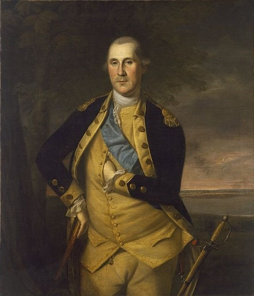 Illustration: General George Washington, Commander of the Continental Army, by Charles Willson Peale, 1776