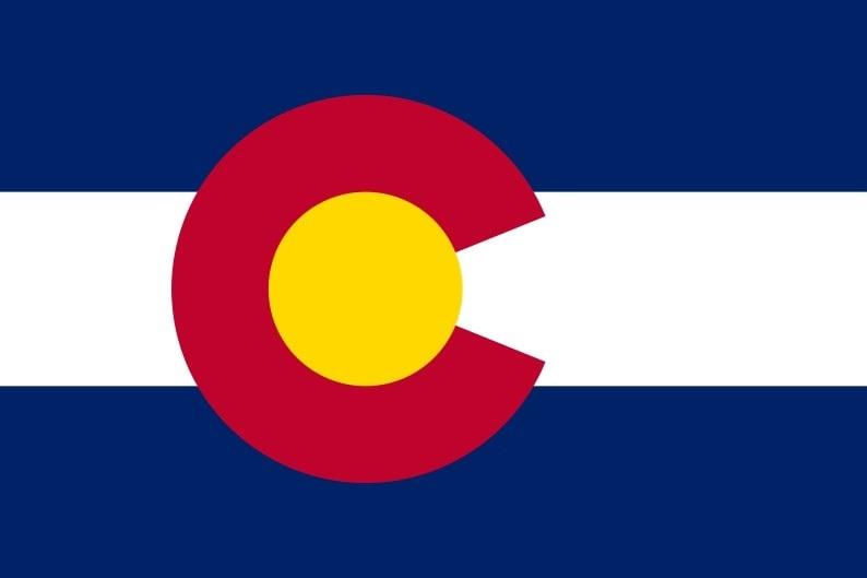 Illustration: Colorado state flag