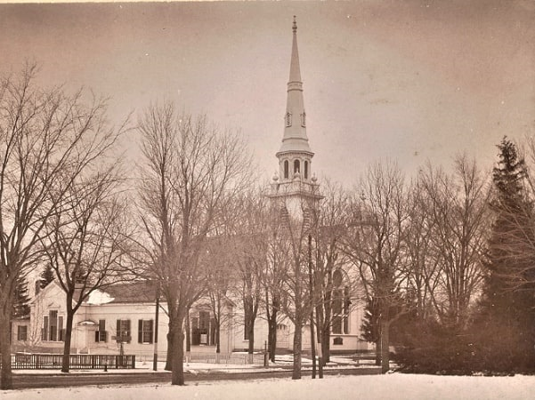 Photo: Belleville Church, Massachusetts, built in 1867. Credit: Museum of Old Newbury, Christopher Snow collection.