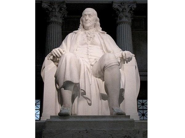 Photo: Benjamin Franklin National Memorial, Philadelphia, Pennsylvania. Credit: Mike Parker; Wikimedia Commons.