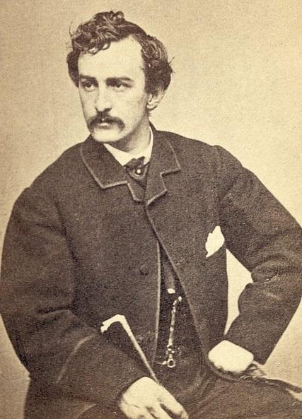 Photo: John Wilkes Booth, c. 1865