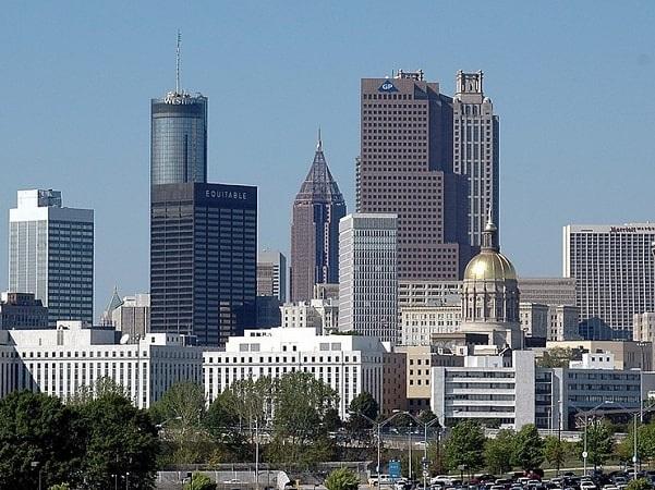 Photo: Atlanta, Georgia. Credit: Paul Brennan; Wikimedia Commons.
