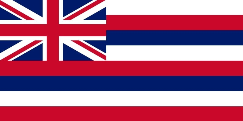 Illustration: Hawaii state flag