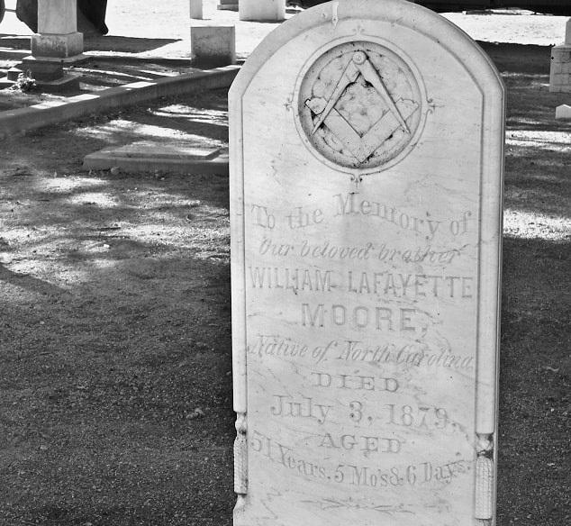 "Photo: gravestone from ""Cemeteries of the Eastern Sierra"" by David Ortega"