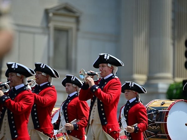 Photo: 4th of July Independence Day Parade in Washington, D.C. Credit: S. Pakhrin; Wikimedia Commons.