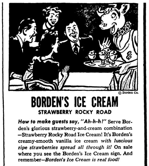 An article about ice cream, Daily Times newspaper article 23 September 1942