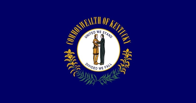 Illustration: Kentucky state flag