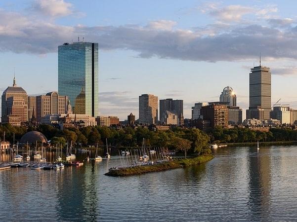 Photo: Boston, Massachusetts. Credit: King of Hearts; Wikimedia Commons.