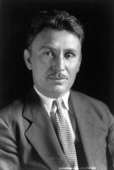 Photo: American aviator Wiley Post, 6 July 1931