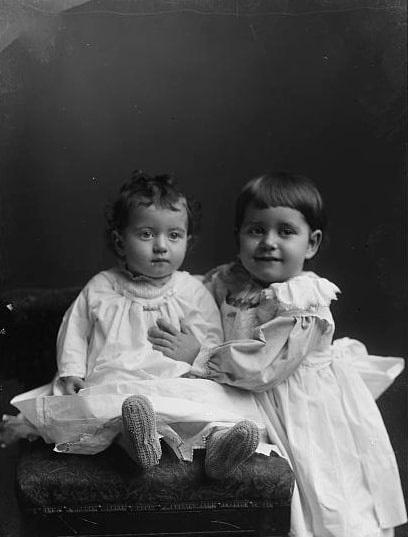 Photo: unidentified children, c. 1892