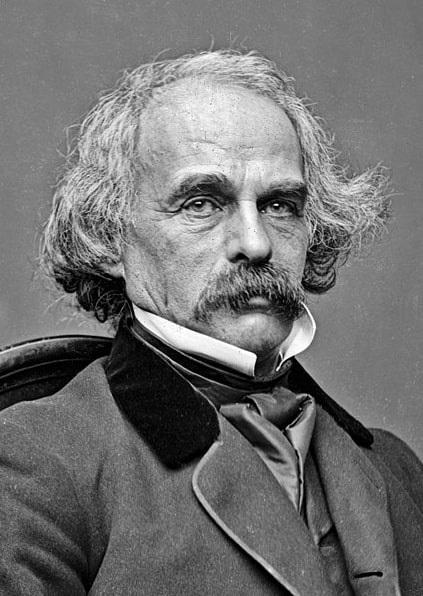 Photo: Nathaniel Hawthorne, c. 1862
