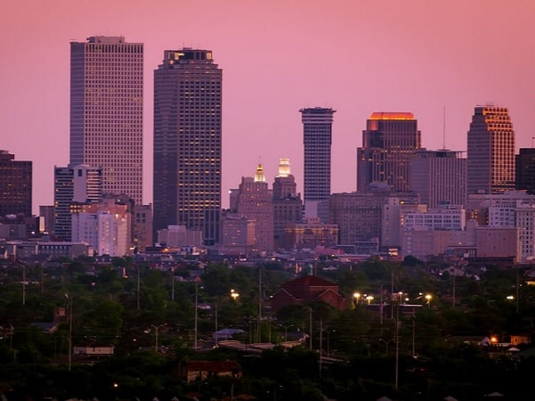 Photo: New Orleans, Louisiana. Credit: thepipe26; Wikimedia Commons.