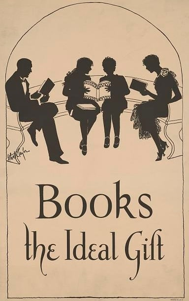 Photo: books poster by Ethel C. Taylor, c. 1925