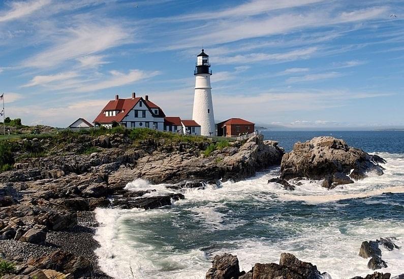 Photo: Portland Head Light Station, Cape Elizabeth, Maine