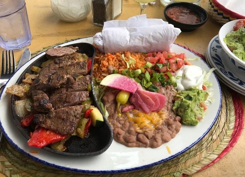 Photo: steak fajita