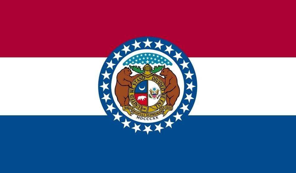 Illustration: Missouri state flag