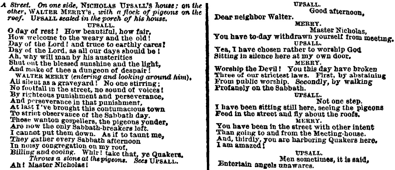 An article about the Quakers, New-York Semi-Weekly Tribune newspaper article 16 October 1868
