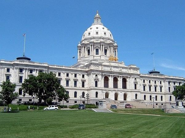 Photo: Minnesota State Capitol, Saint Paul, Minnesota. Credit: Mulad; Wikimedia Commons.