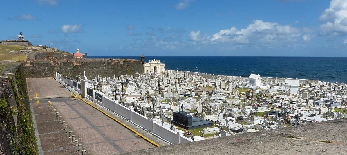 Photo: the Santa María Magdalena de Pazzis Cemetery, Puerto Rico