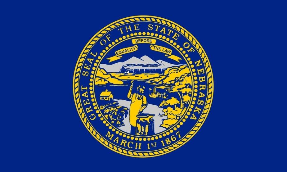 Illustration: Nebraska state flag