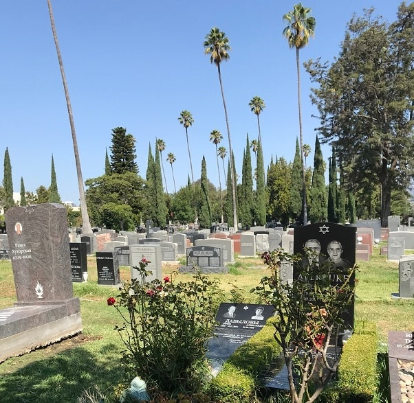 Photo: Hollywood Forever Cemetery, Los Angeles, California