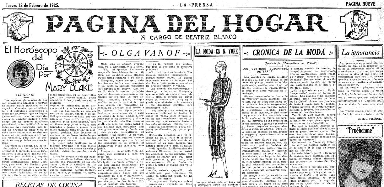 La Prensa (San Antonio, Texas), 12 February 1925, page 9
