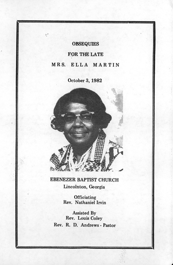 African American Funeral Program Collection Online