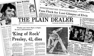 Elvis Presley Search 32 000 Newspaper Articles